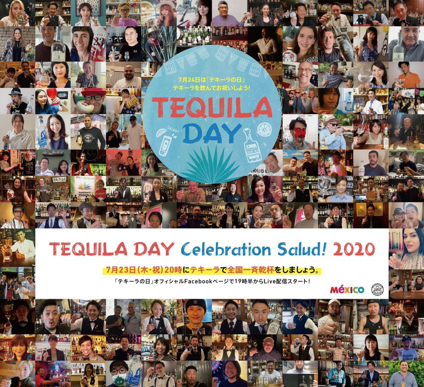 TEQUILA DAY Celebration Salud 2020